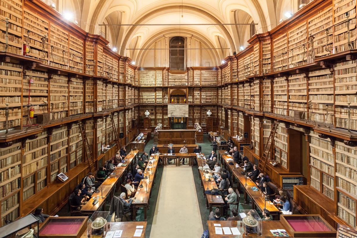 Biblioteche romane da visitare Biblioteca Angelica, la culla dei manoscritti