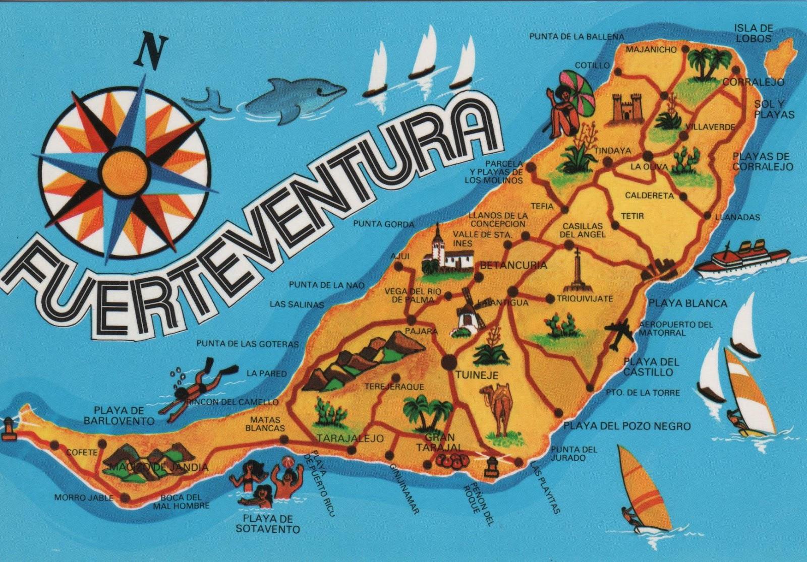 Il clima di Fuerteventura nel mese di Luglio