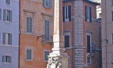 Roma nascosta: l'obelisco del Pantheon