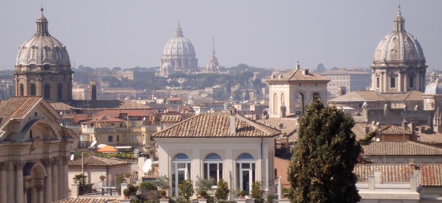 Terrazza Caffarelli, per godersi il panorama di Roma al tramonto ...