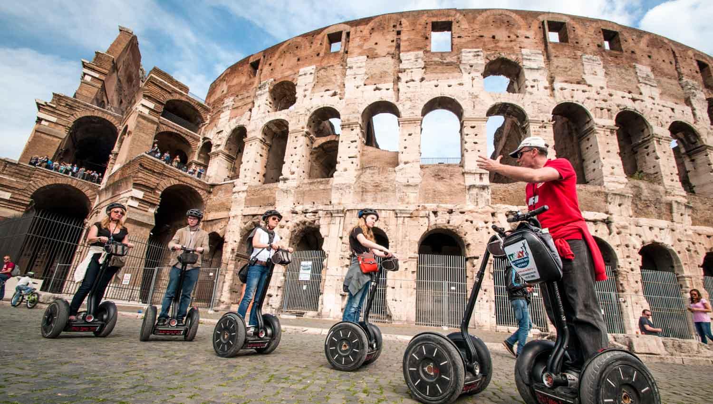 Tour di Roma in Segway: visitare la città comodamente