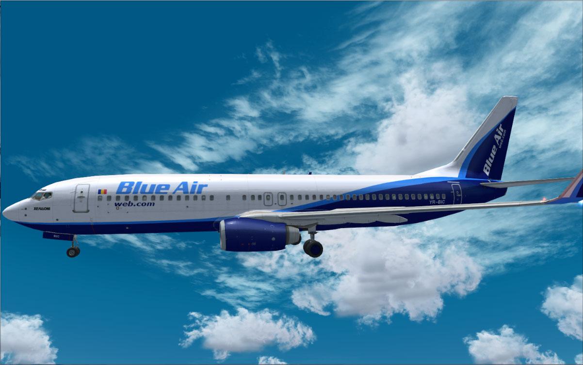 Come fare Blue Air check in all'estero