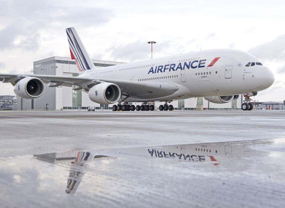 Problemi con Air France check in online