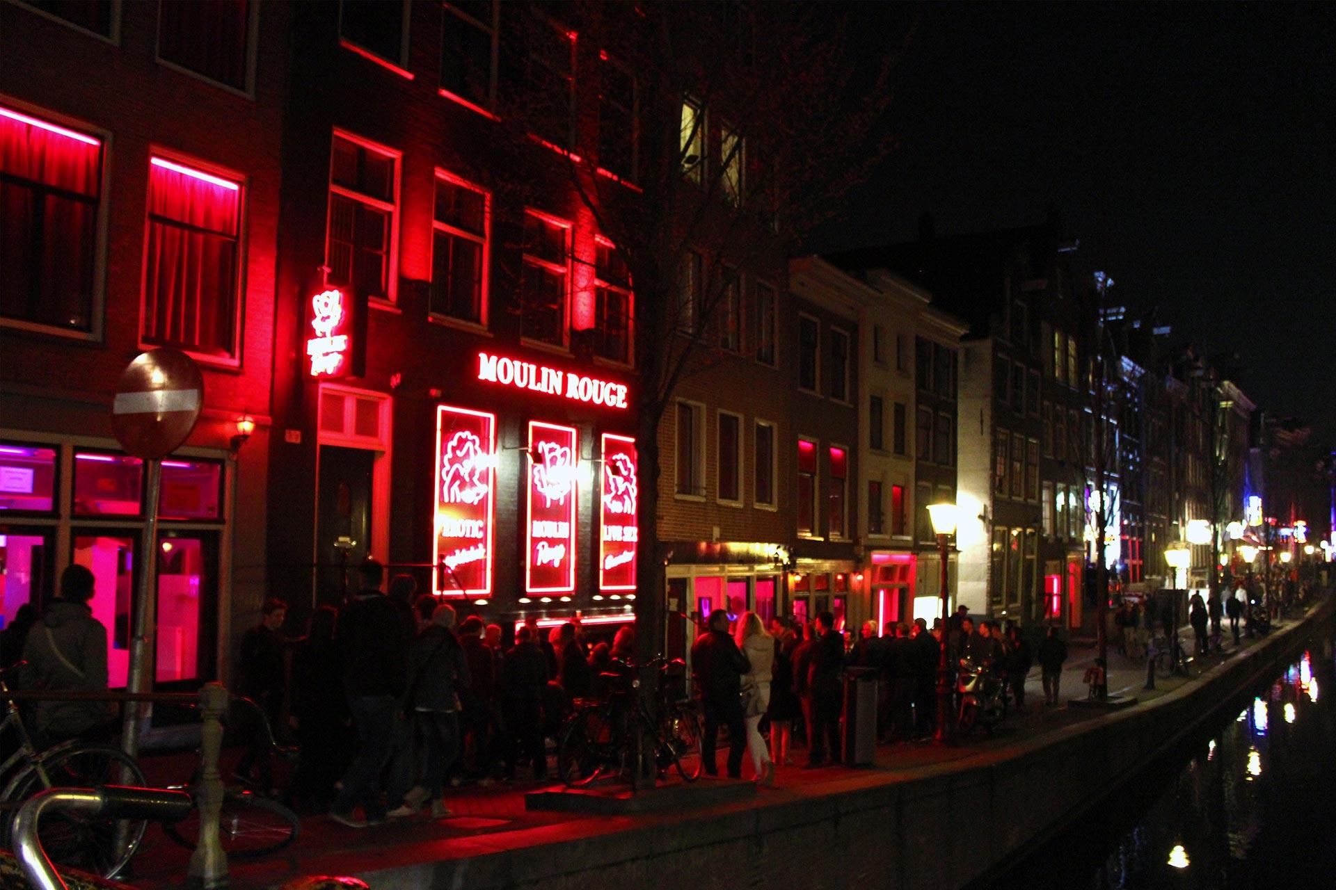 Quali sono le tariffe Amsterdam quartiere a luci rosse