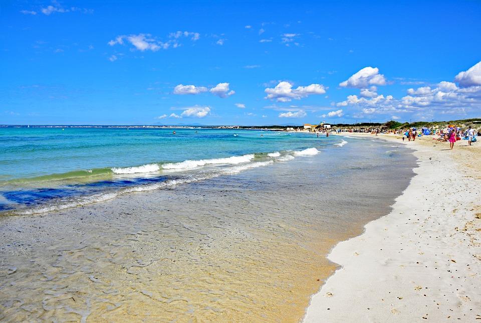 Come ragiungere spiaggia Es Trenc Maiorca
