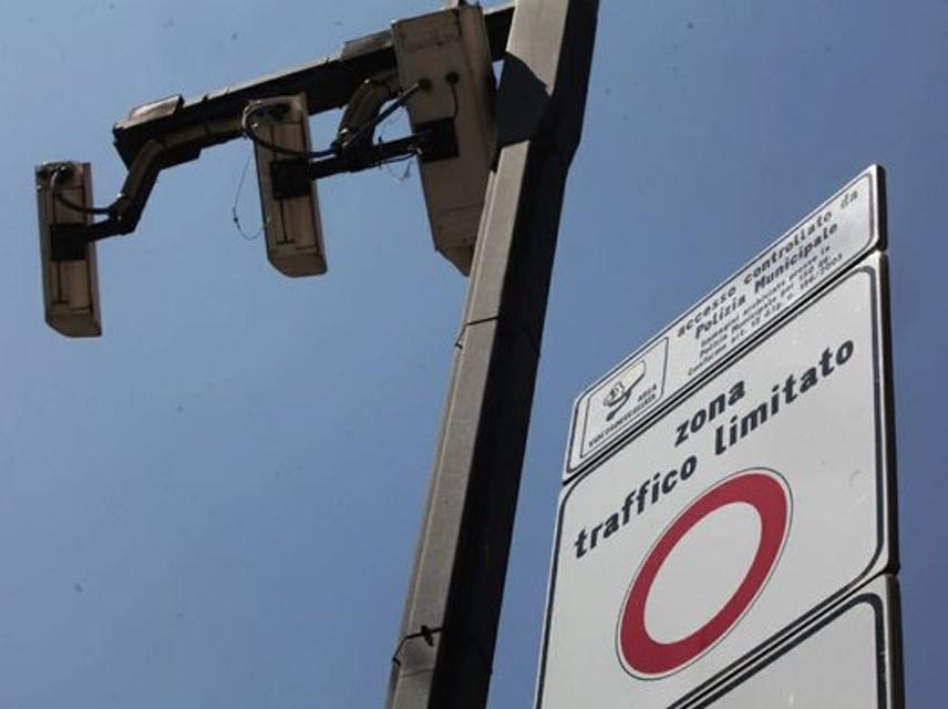 Multe e sanzioni per zona traffico limitato Milano