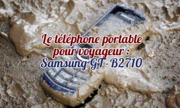 Il telefono cellulare per viaggiatore: Samsung GT-B2710