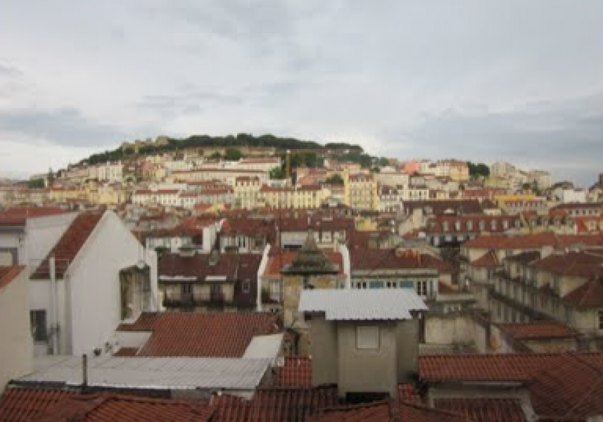 Distretto di Alfama. Lisbona nella sua forma più pura