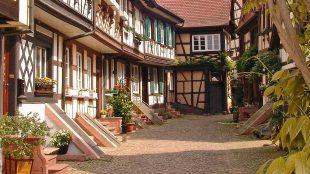 Gengenbach un tipico villaggio nel sud della Germania