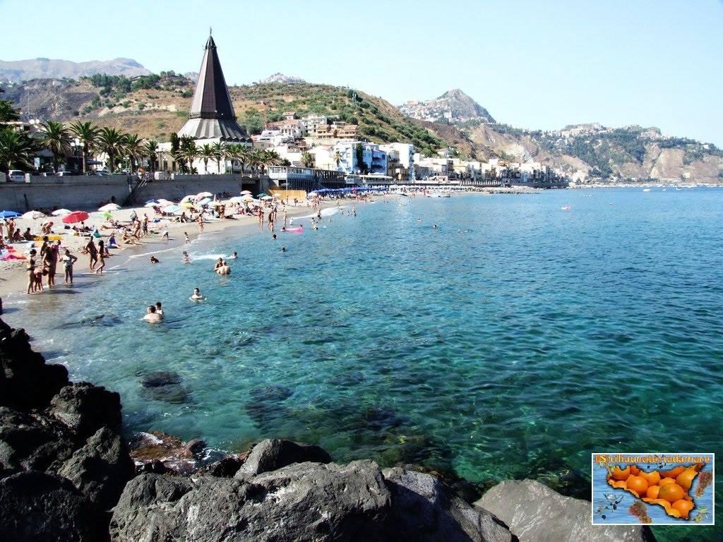 Le spiagge incredibili di giardini naxos viaggiamo