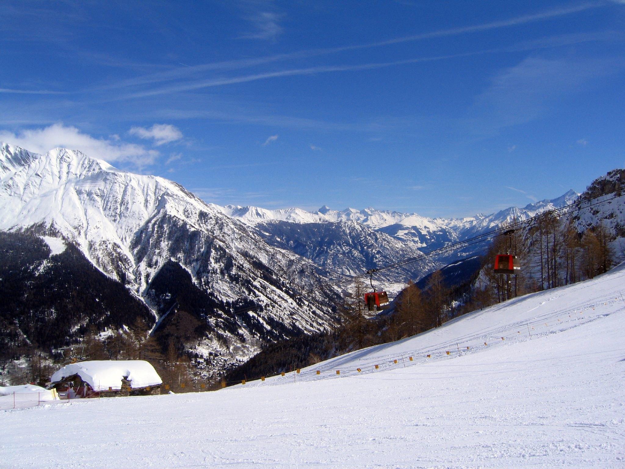 mete italiane dove sciare Courmayeur