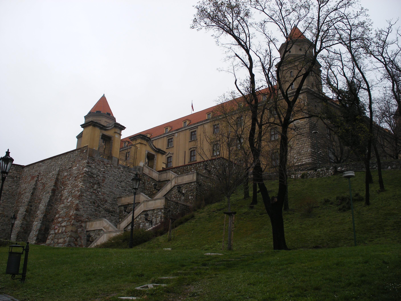 Castello di Bratislava.