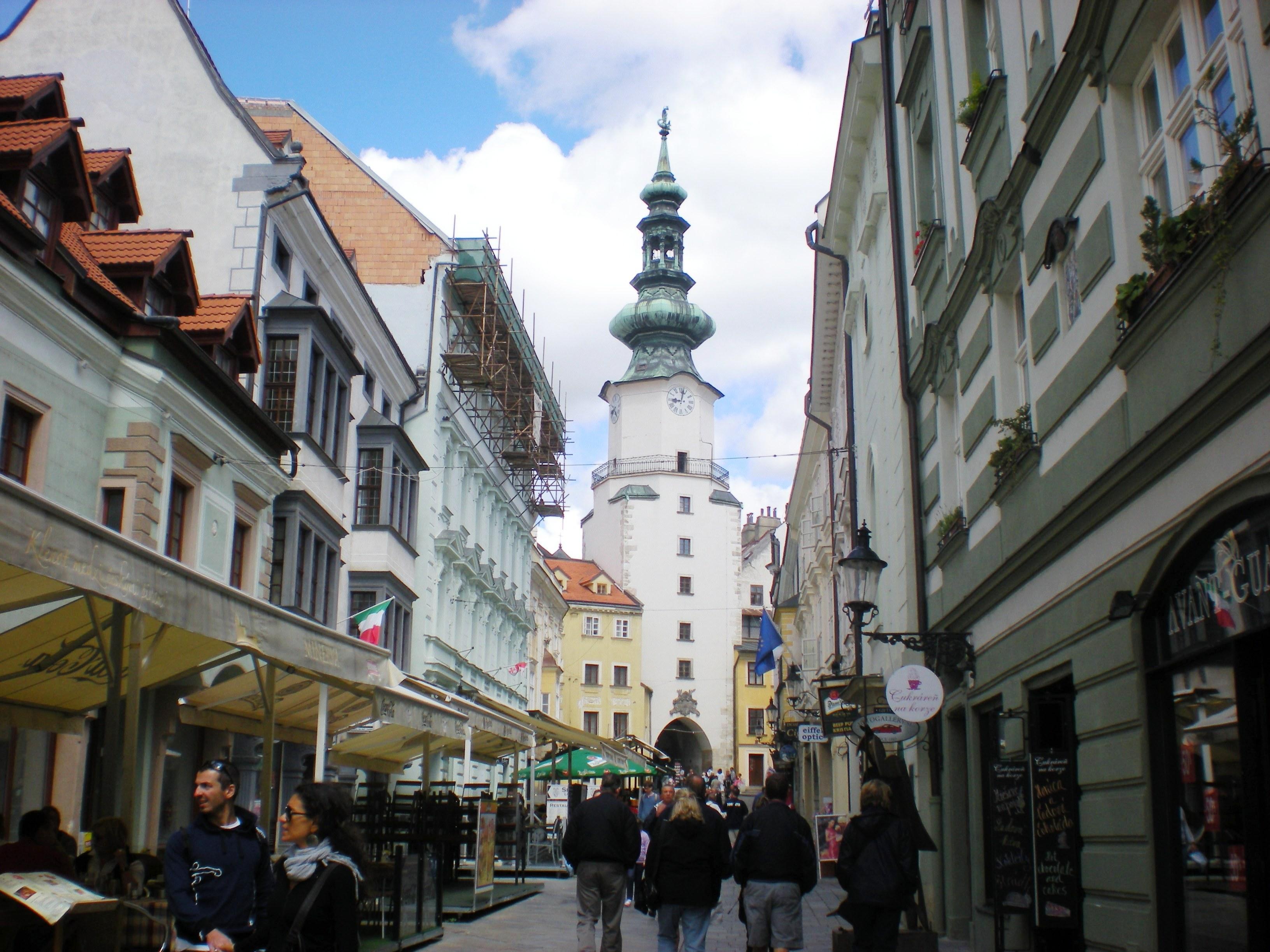 Porta di San Michele a Bratislava.
