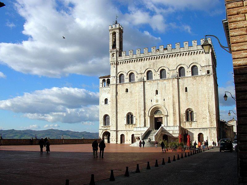 Palazzo dei Consoli a Gubbio.