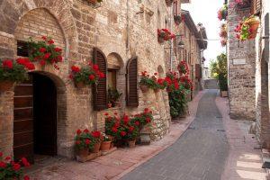 vie di Assisi