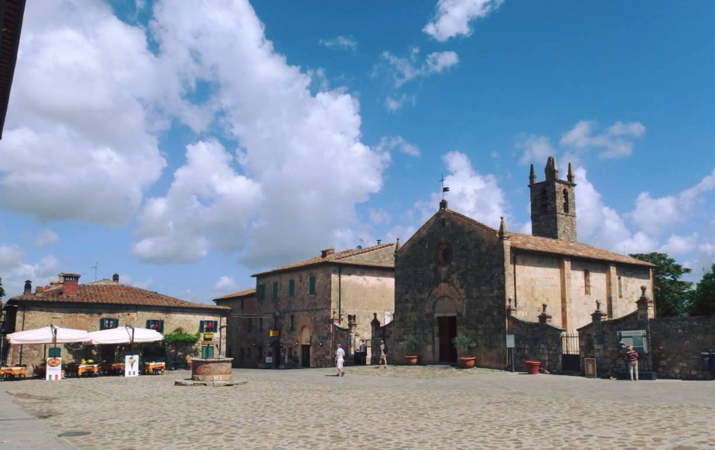 centro storico Monteriggioni