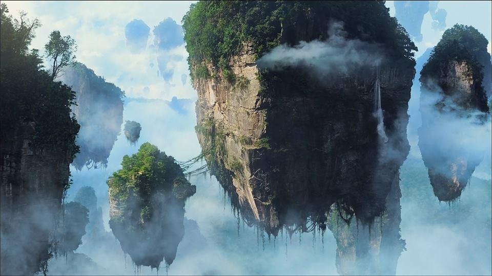 montagne di tianzi