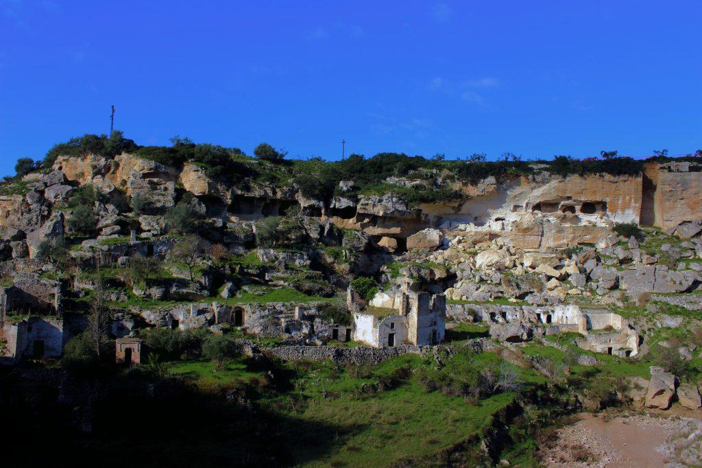 Ginosa, i sassi del Rione Casale