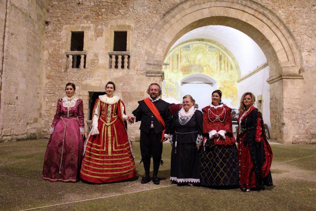 Laterza, ballo tradizionale al Palazzo Marchesale