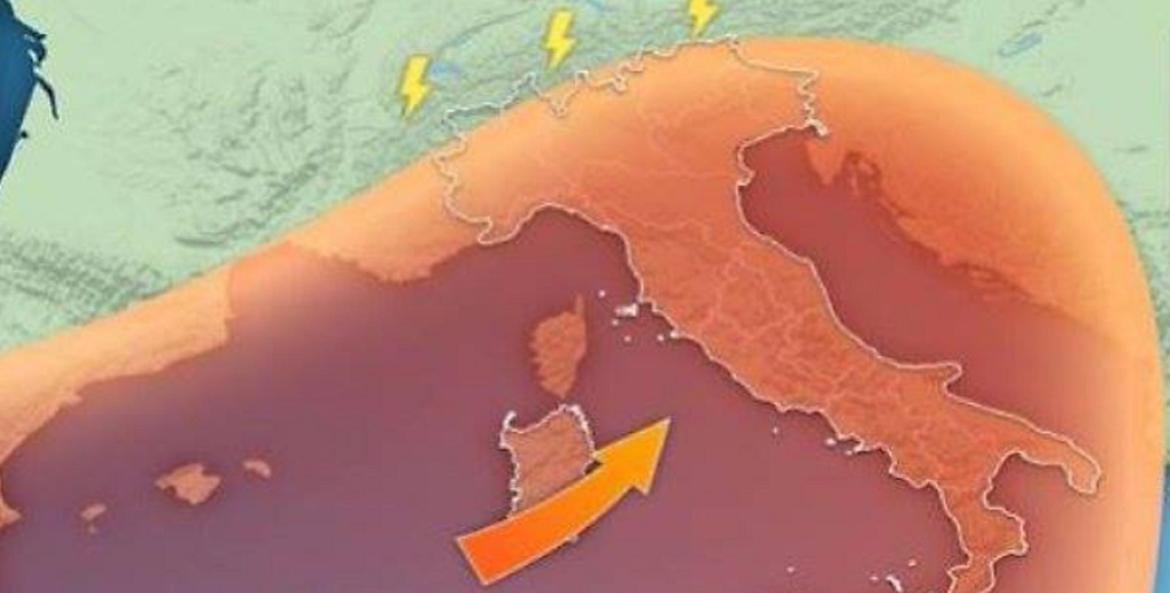 Meteo, alta pressione sulla penisola: inquinamento in aumento