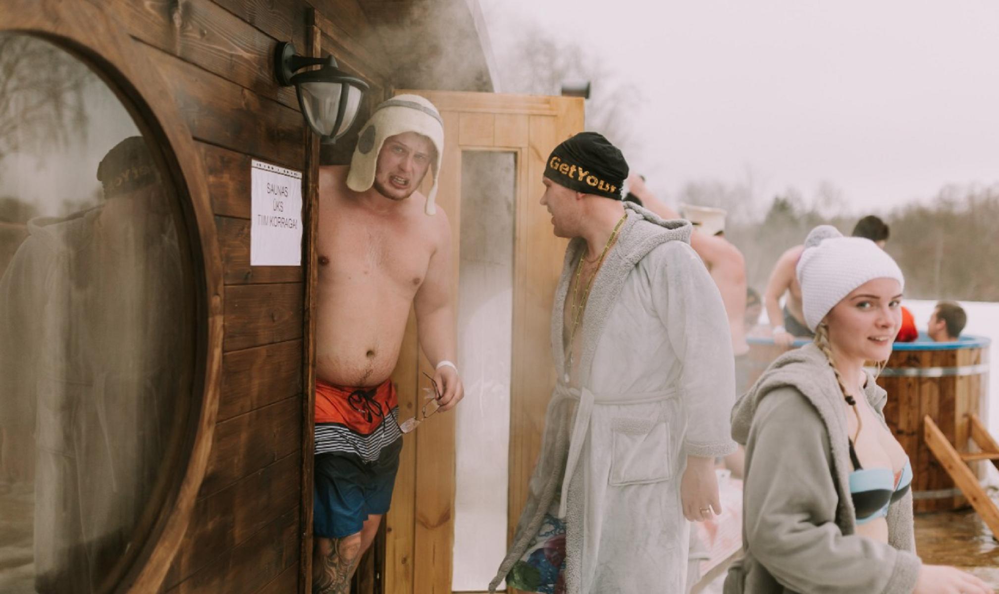 Estonia, maratona annuale tra le saune: cosa è?