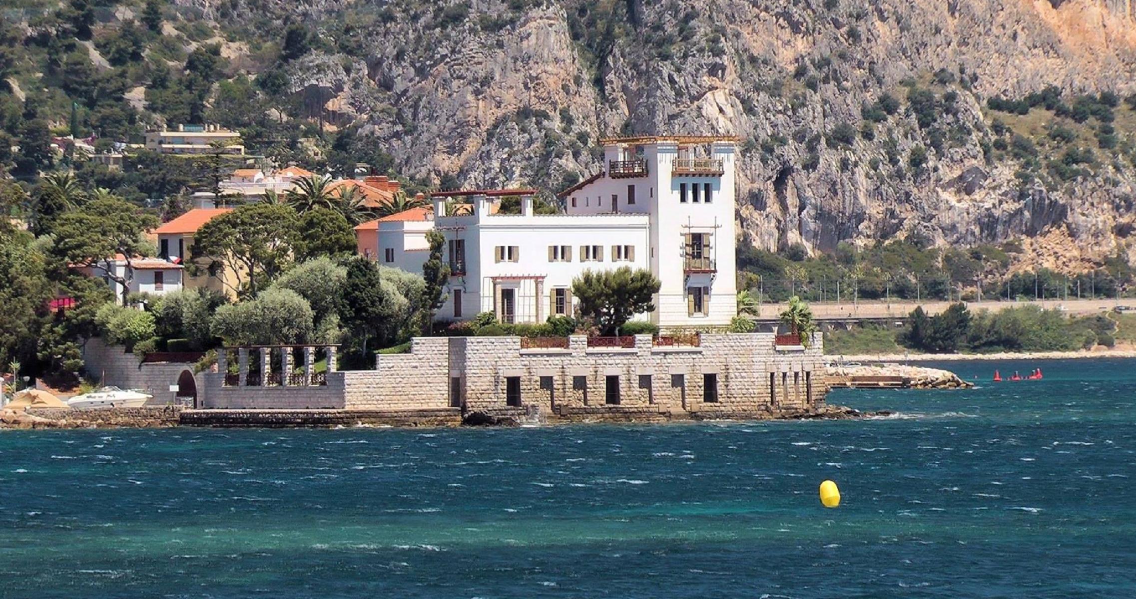 Costa Azzurra, la villa segreta di Karl Lagerfeld