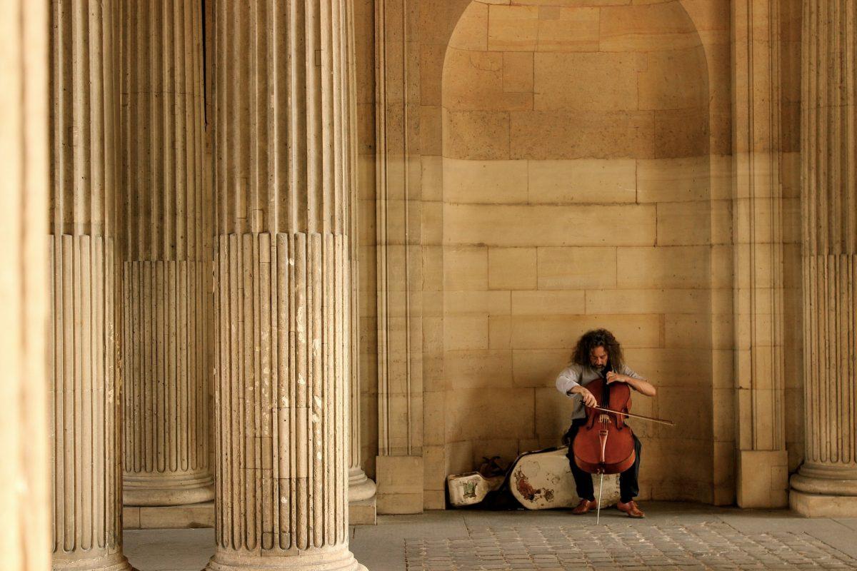 Artisti di strada Parigi