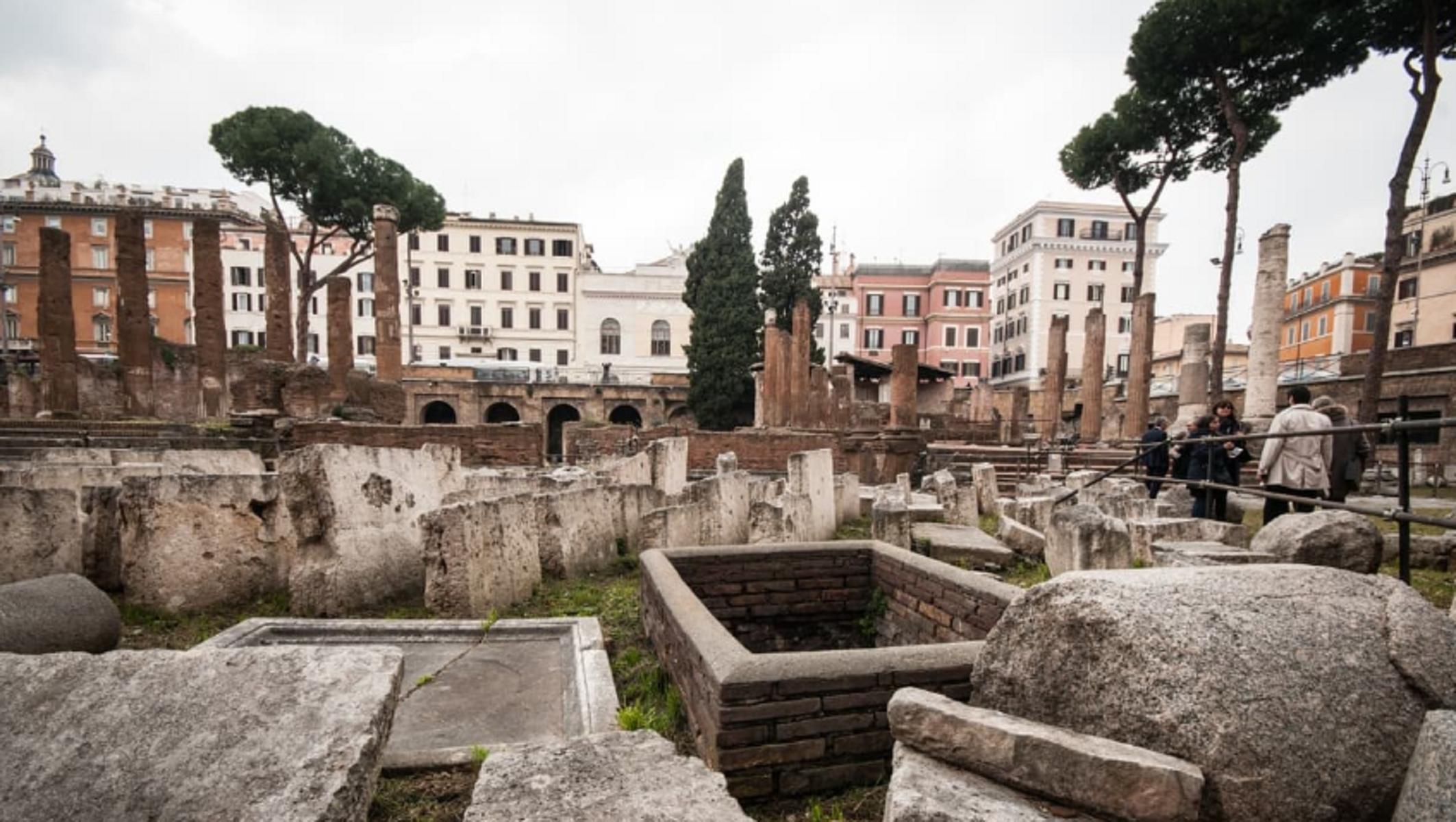 Largo Argentina: aprirà il luogo dell'assassinio di Giulio Cesare