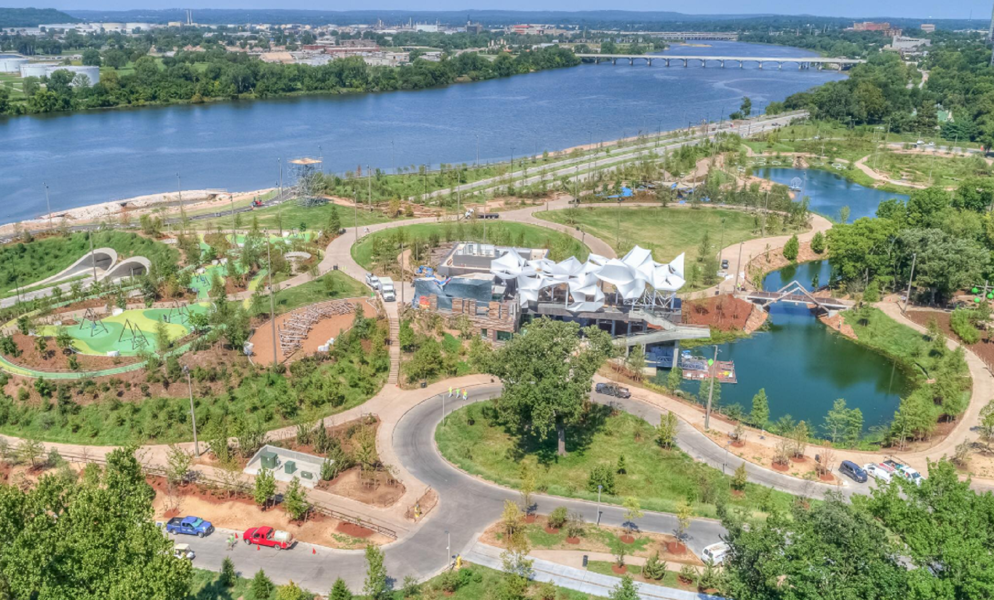 Gathering Place, il parco divertimenti americano
