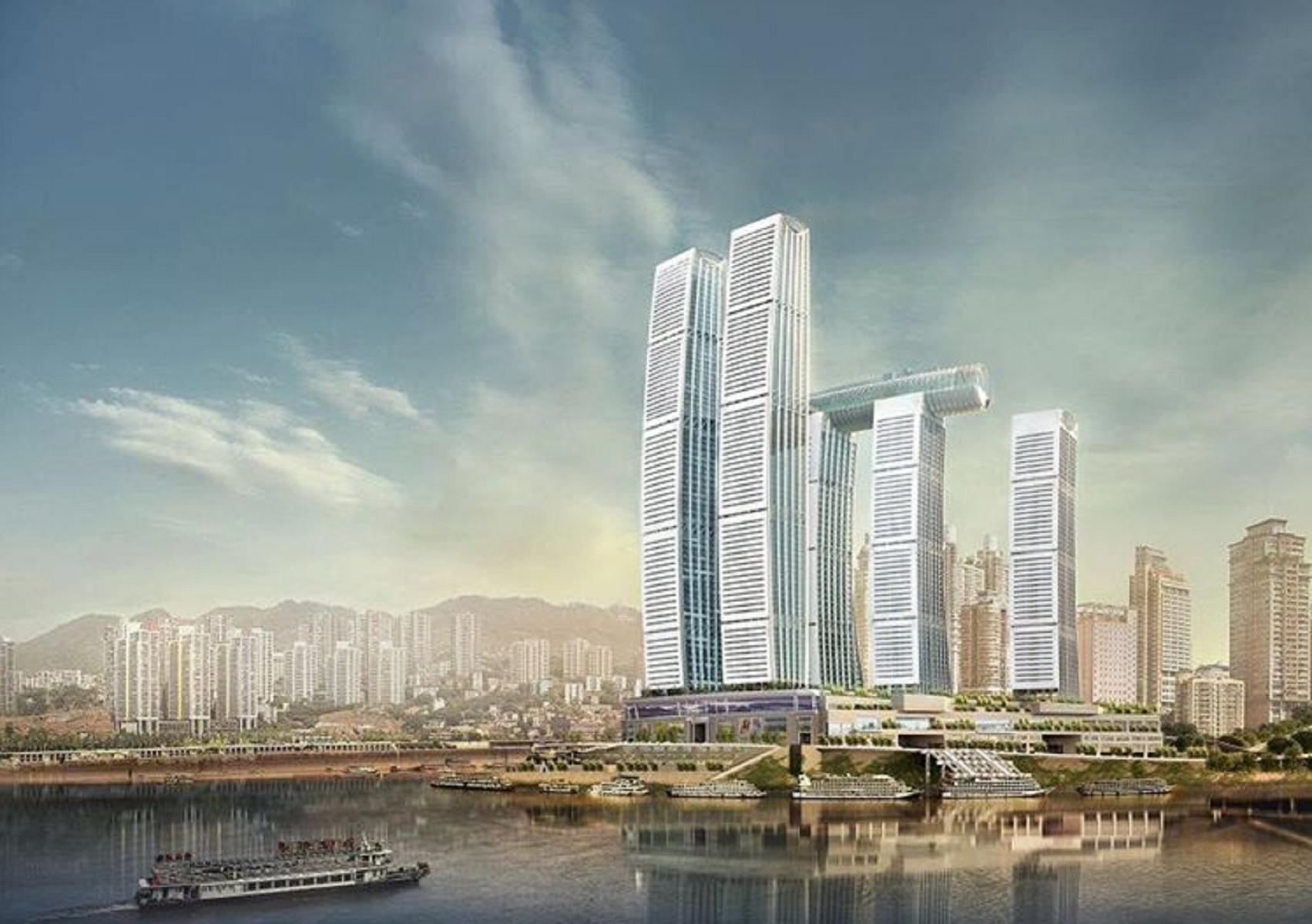 Cina, Raffles City Chongqing: il grattacielo più alto del mondo