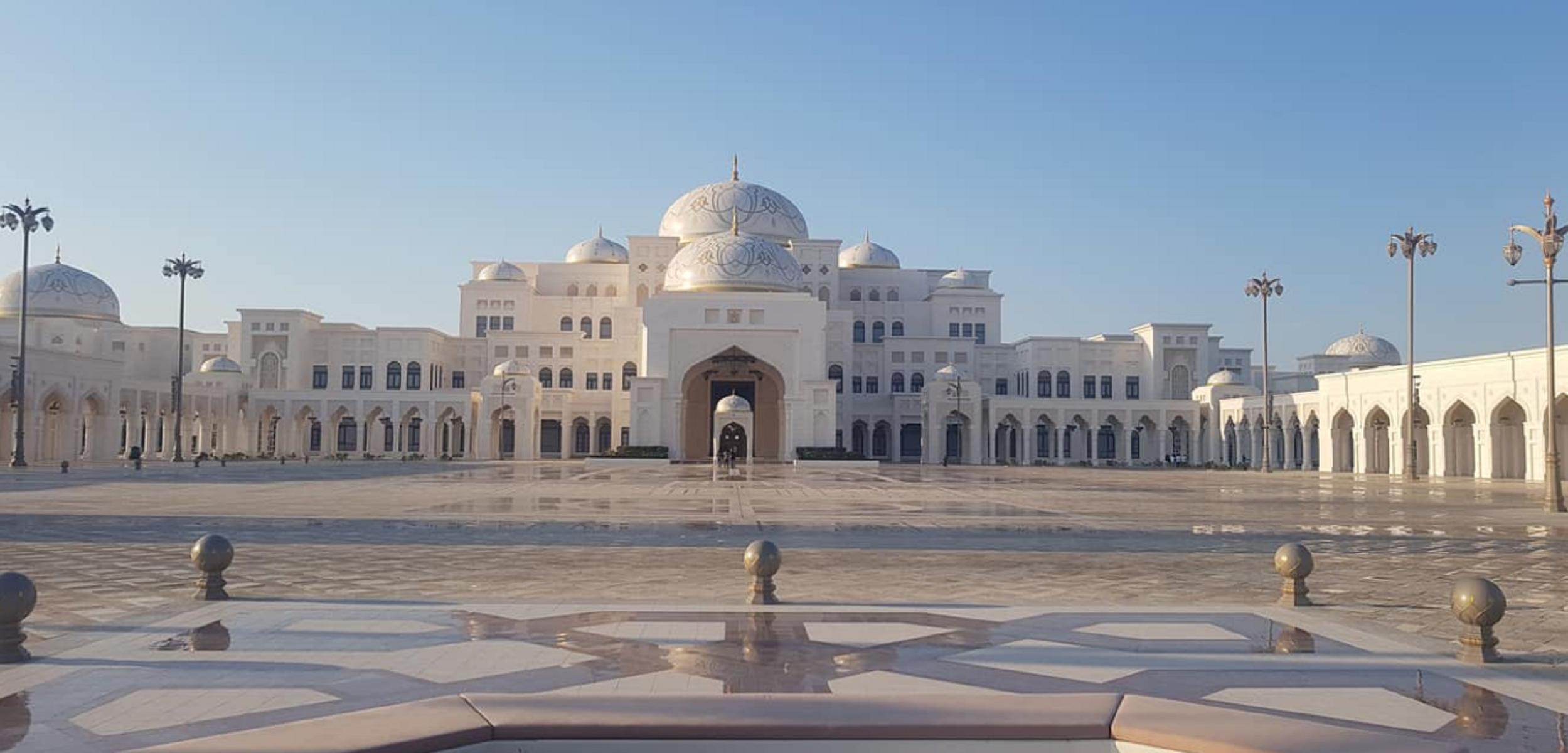 Il palazzo presidenziale Abu Dhabi apre per la prima volta al pubblico