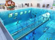 Polonia, apre in autunno la piscina più profonda del mondo
