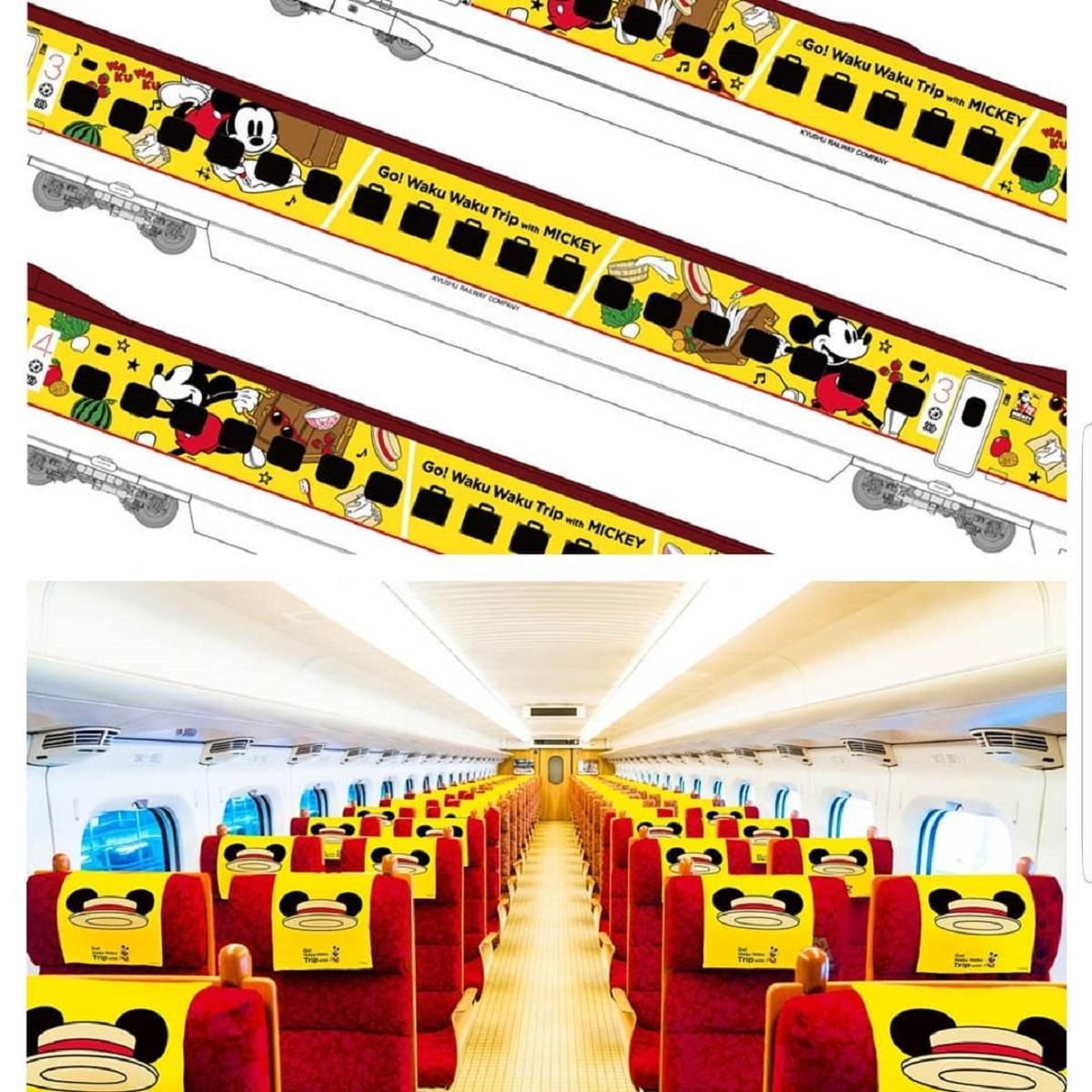 Giappone, in arrivo il treno di Topolino