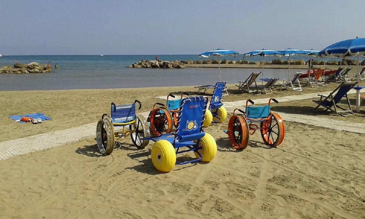 spiagge per disabili italia