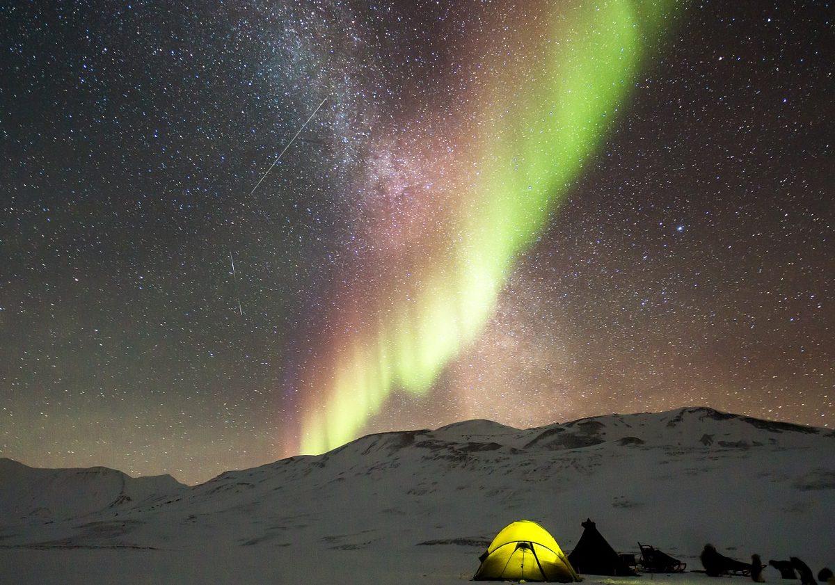 aurora boreale in scozia