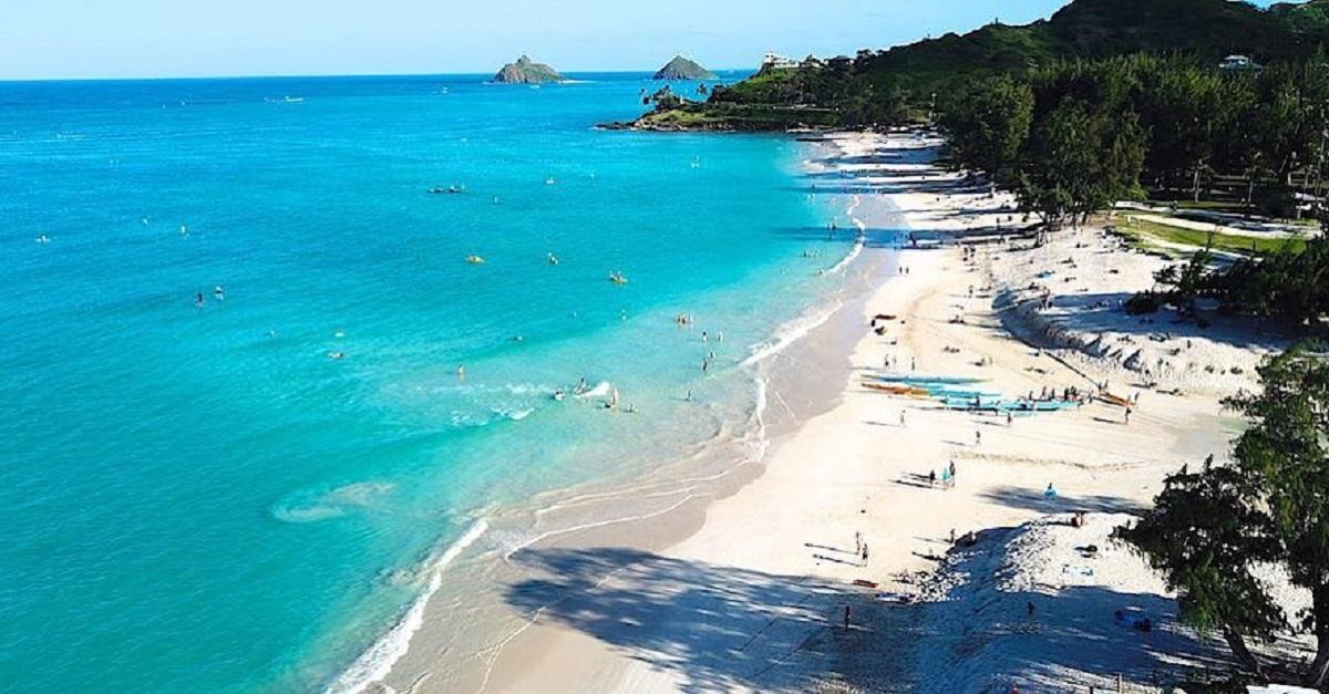 kailua beach spiaggia america