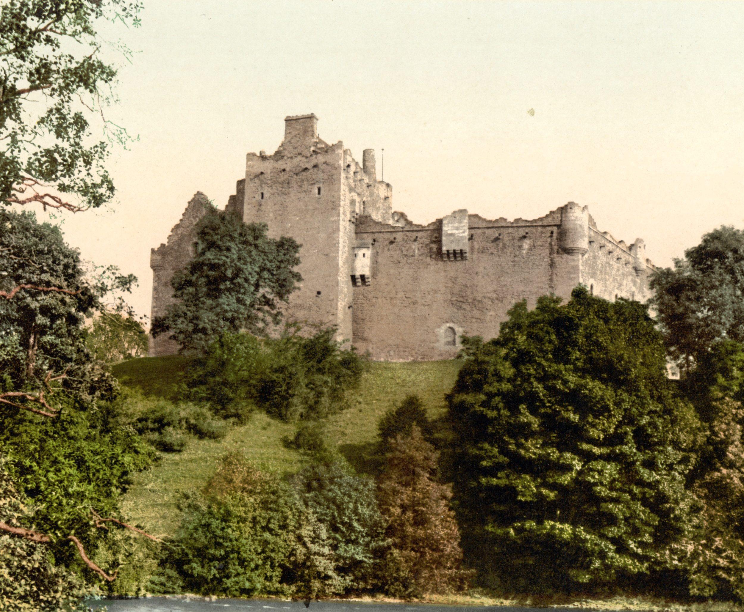 castelli scozzesi infestati