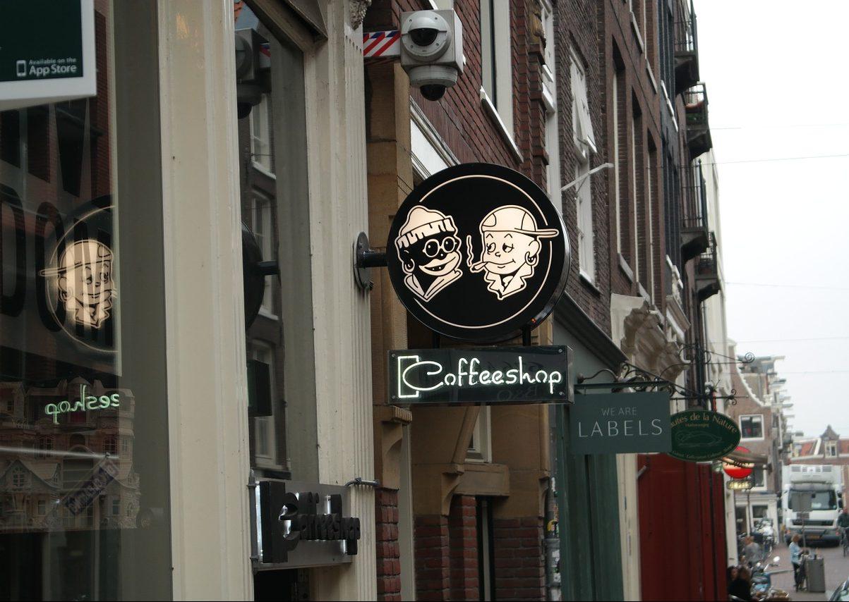 coffee shop amsterdam