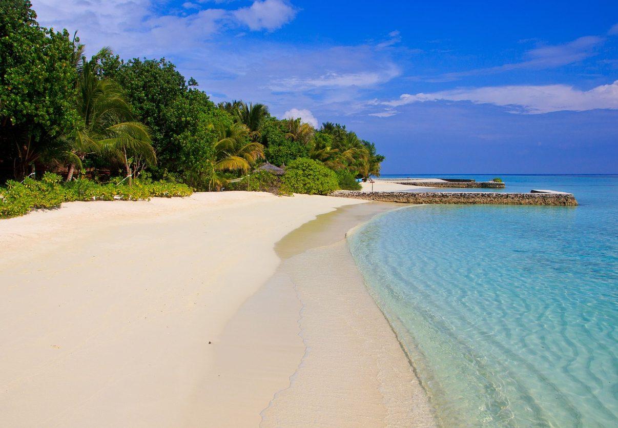 sabbia delle maldive