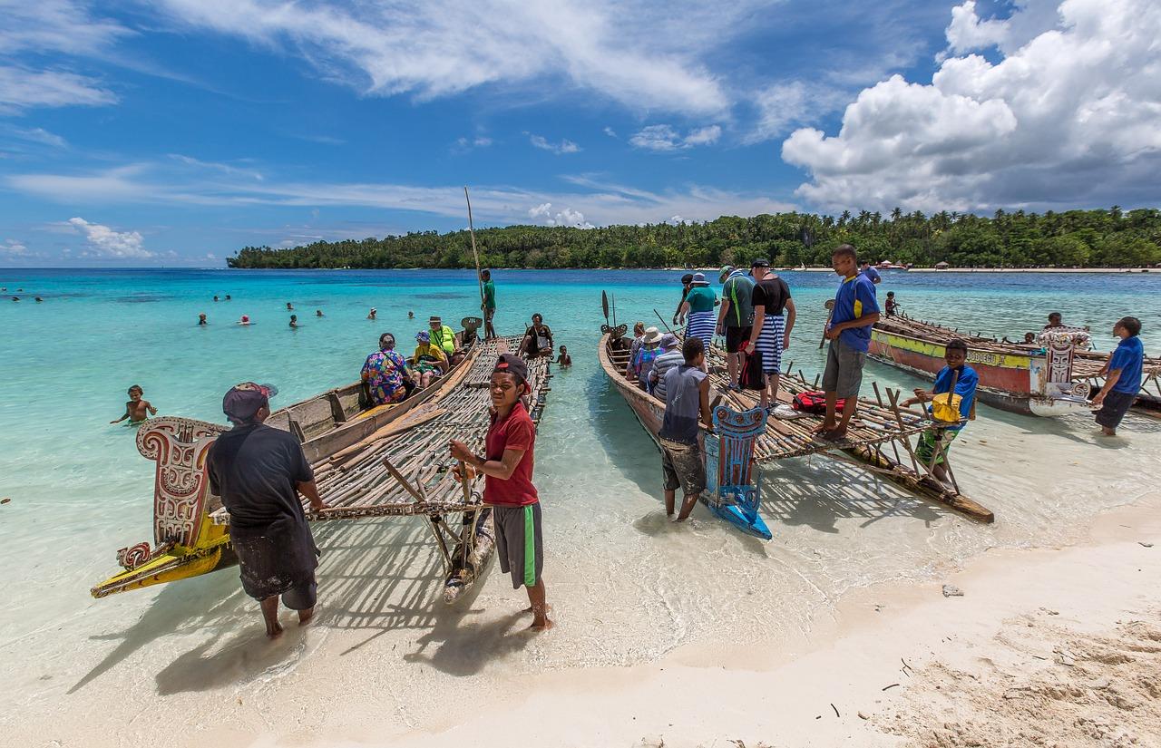 viaggio in papua nuova guinea