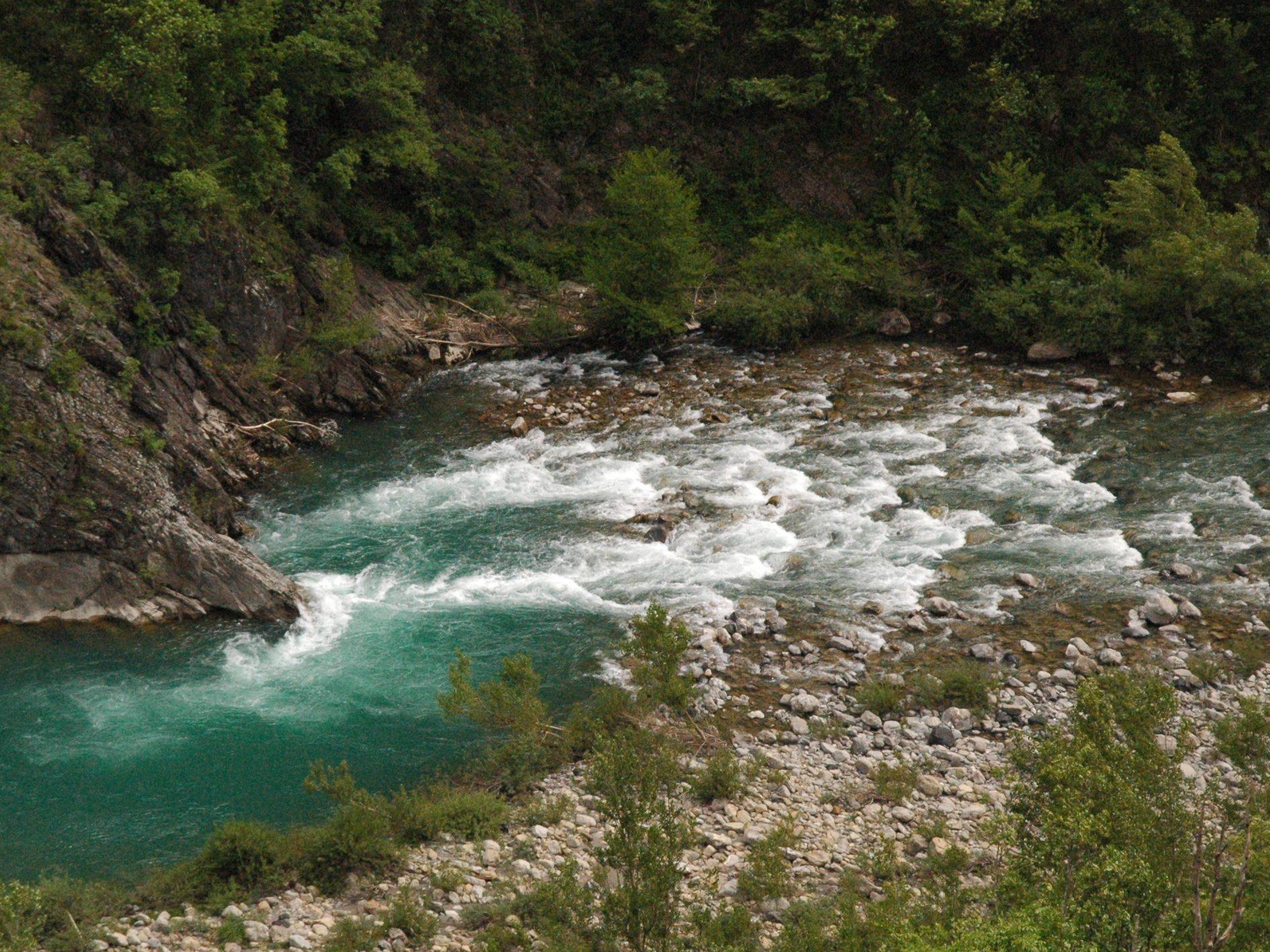 fiume trebbia spiagge