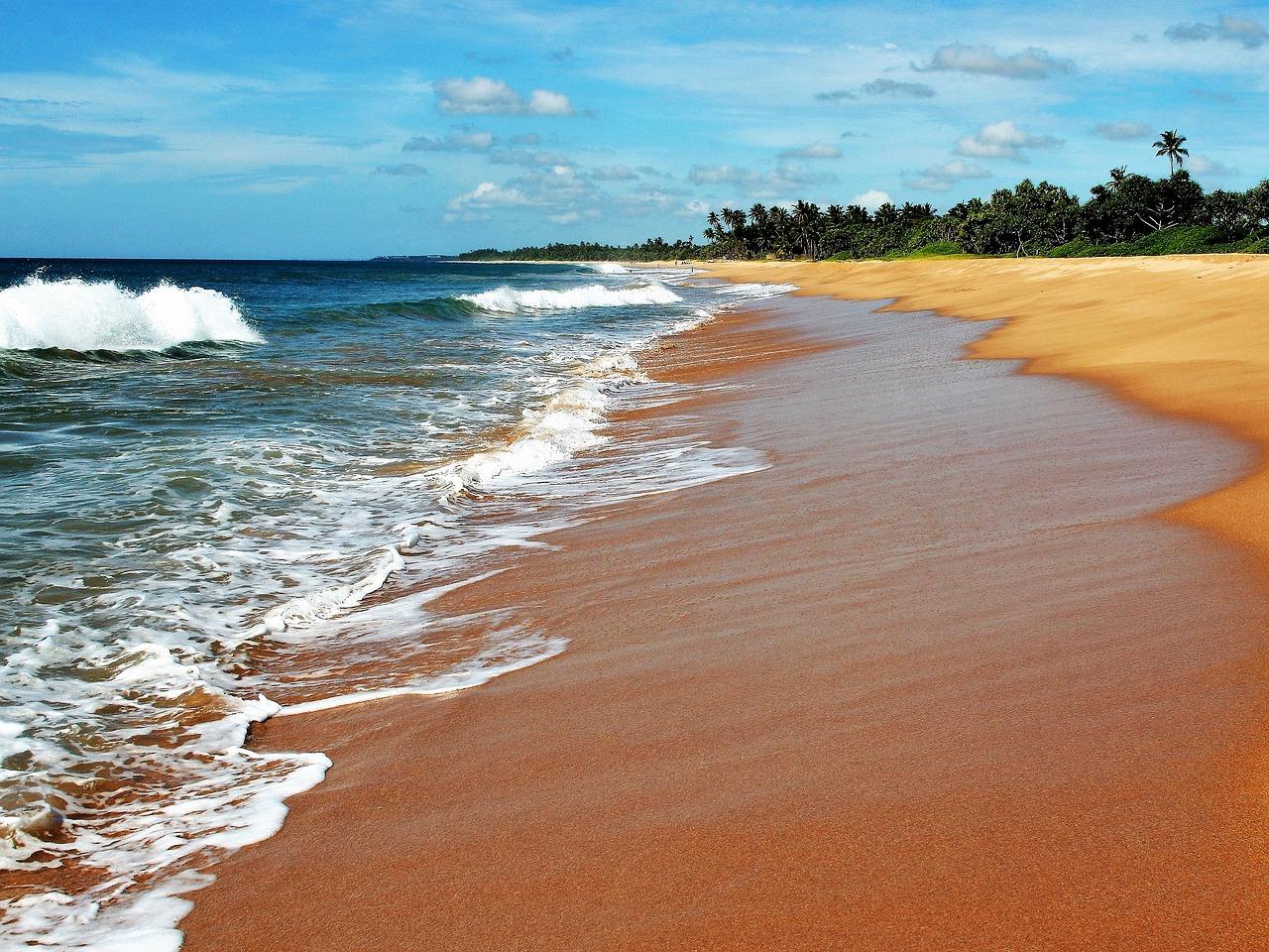 Sri Lanka mare più bello