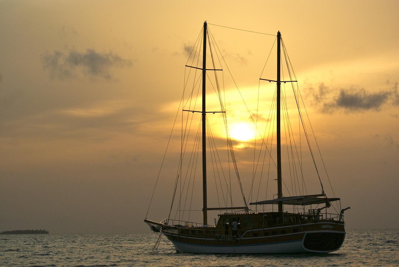 capodanno 2020 alle maldive barca