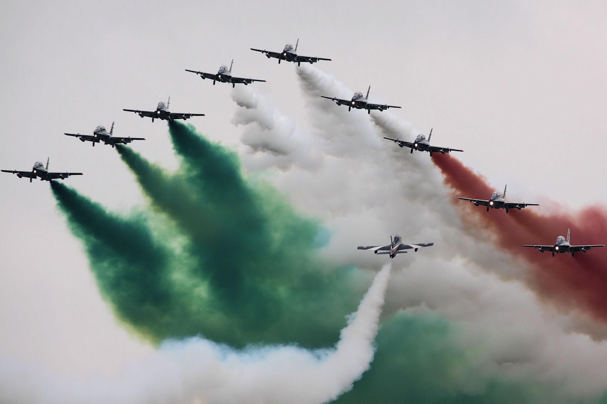frecce tricolori como 2019