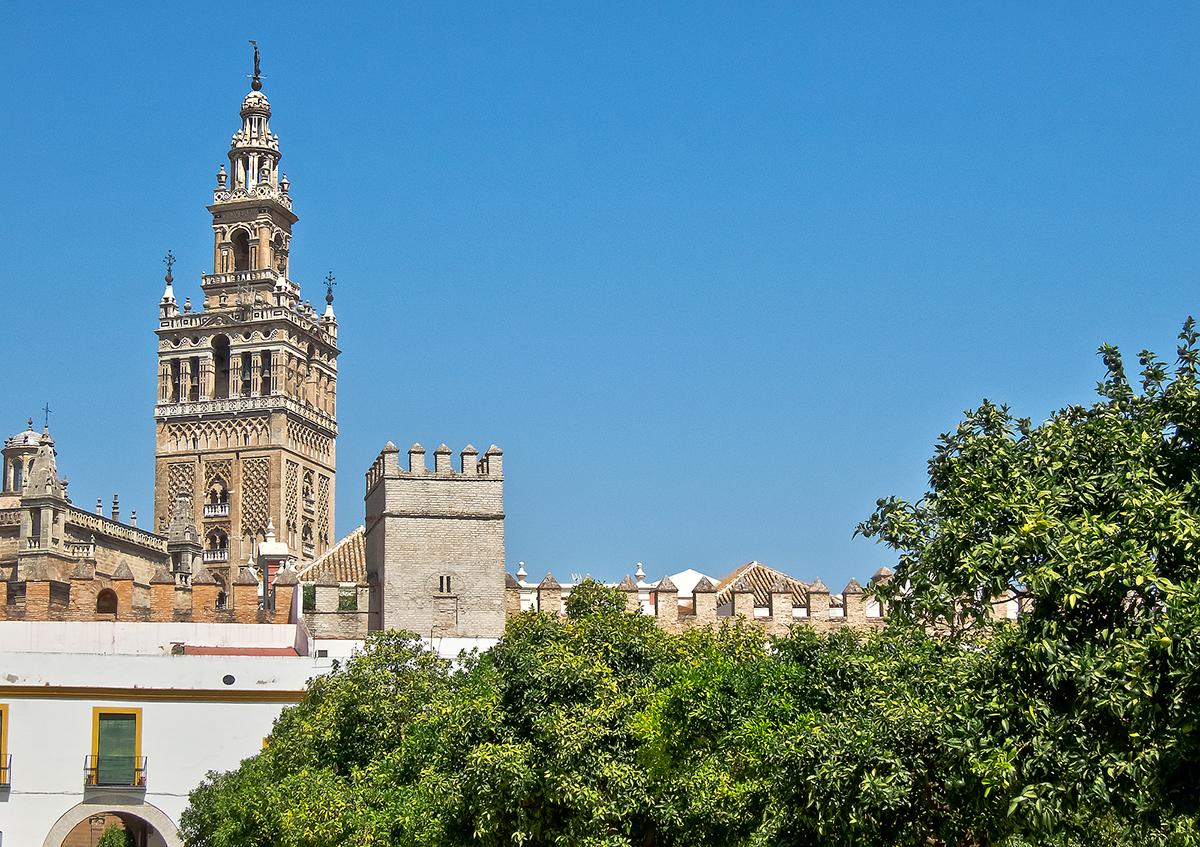 giardini dell'Alcázar