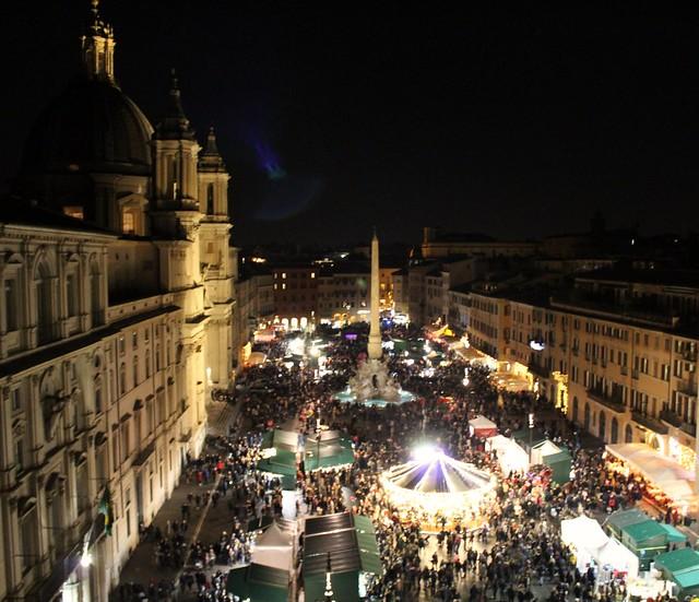 mercatini piazza navona