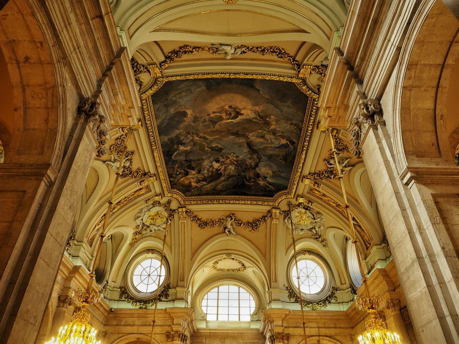 palazzo reale di madrid interno 2