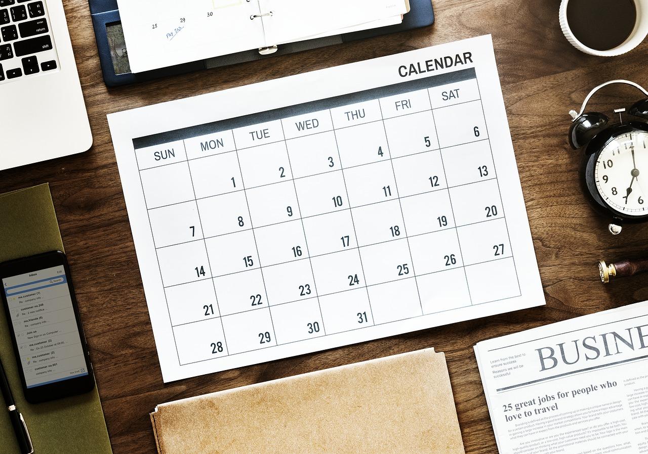 ponti 2020 calendario