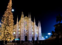 Accensione albero di Natale Milano 2019