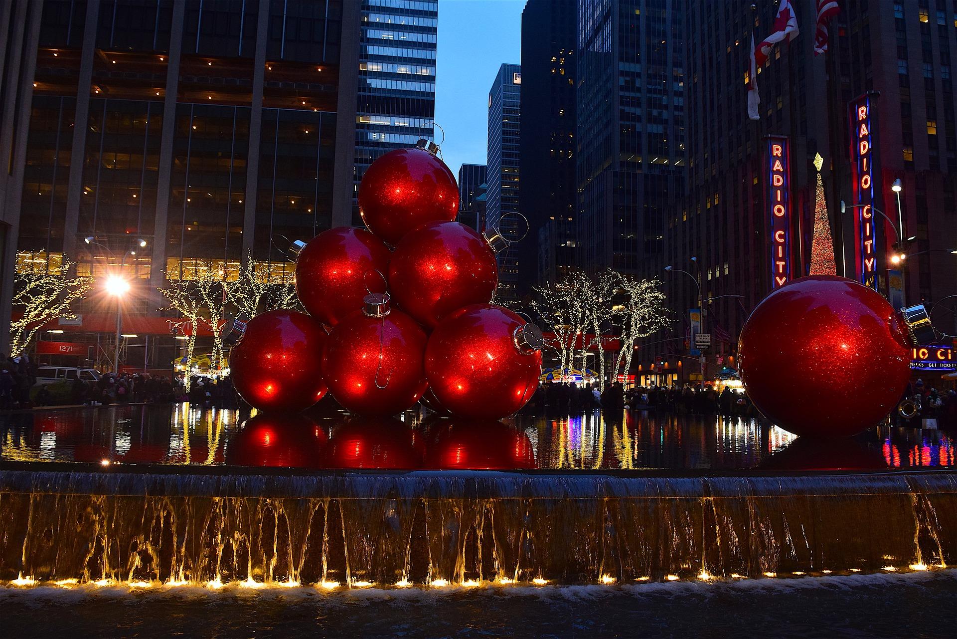 Accensione albero di natale a New York 2019